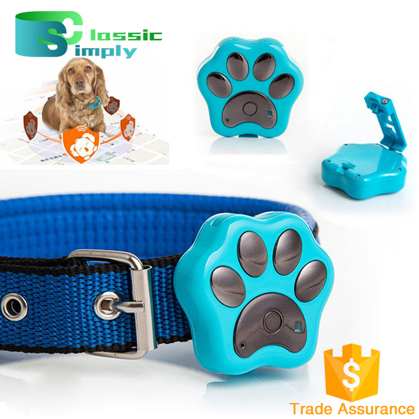 V30 Waterproof 2G Smart Pets GPS Tracker for Dog Cat