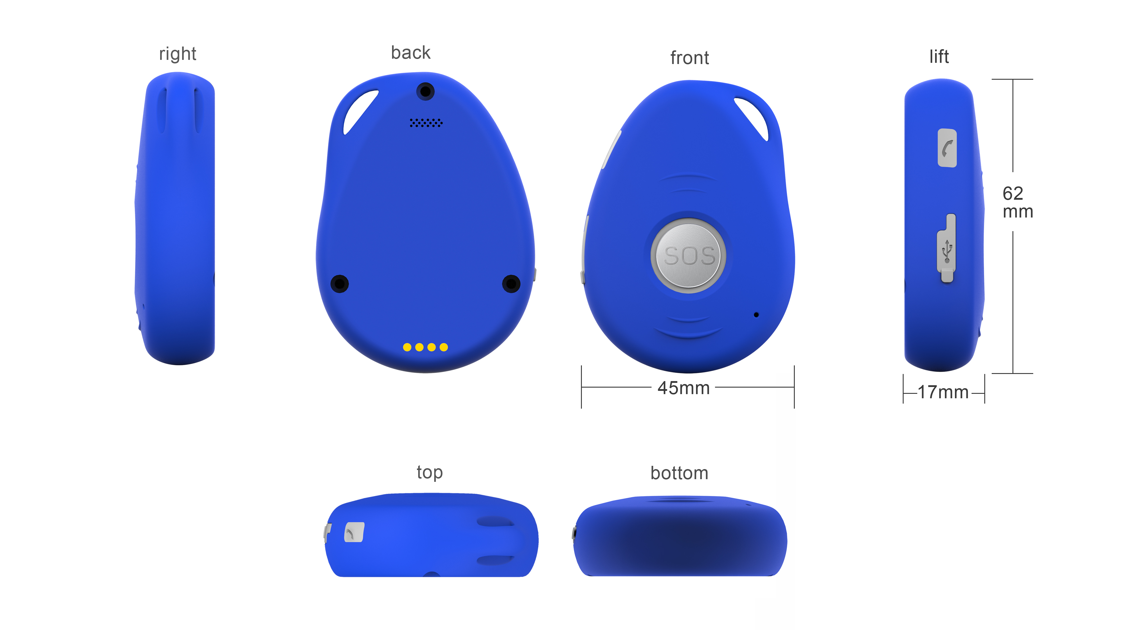 EV07S Personal GPS Tracker (1)