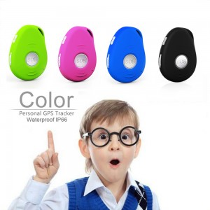 EV07w CE RoHS Waterproof 3G Kids Personal Mini GPS Tracker with SOS Panic Button and Fall Down Detection (1)