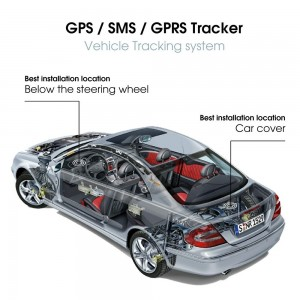 TK103b Vehicle Car GPS Tracker
