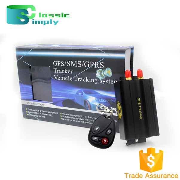 TK103b Vehicle Car GPS Tracker with Remote Cut Oil