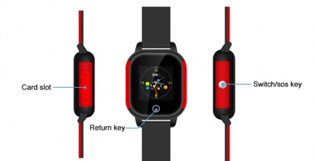 IP67 Waterproof Smart Kids GPS Watch