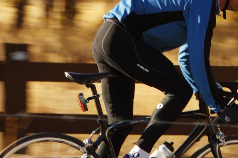 TK906 LED Tail Light Bike GPS Tracker with 1000 mAh Long Battery Life